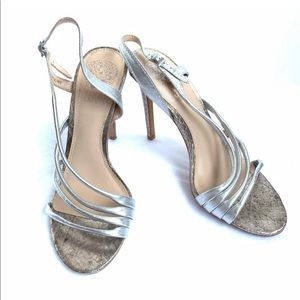 NWT Vince Camuto Open Toe Heels